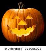 Halloween Pumpkin Head Scary...