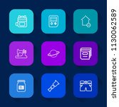 modern  simple vector icon set...   Shutterstock .eps vector #1130062589
