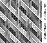 design seamless monochrome... | Shutterstock .eps vector #1130069786