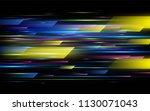 high speed. hi tech. abstract... | Shutterstock .eps vector #1130071043