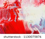 abstract art acrylic painting... | Shutterstock . vector #1130075876