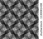 design seamless monochrome... | Shutterstock .eps vector #1130081438