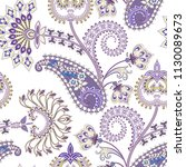 seamless pattern in provence... | Shutterstock .eps vector #1130089673
