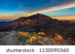 view of the teide volcano from... | Shutterstock . vector #1130090360