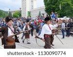 gabrovo  bulgaria may 19  2018. ... | Shutterstock . vector #1130090774