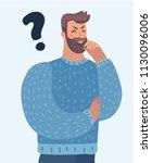 vector cartoon illustration of... | Shutterstock .eps vector #1130096006