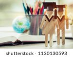 australia education knowledge... | Shutterstock . vector #1130130593