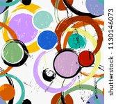 seamless background pattern ... | Shutterstock .eps vector #1130146073
