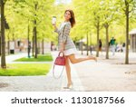 outdoors lifestyle fashion... | Shutterstock . vector #1130187566