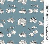 vector illustration  seamless...   Shutterstock .eps vector #1130196863