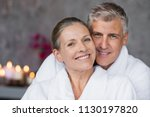 portrait of mature married... | Shutterstock . vector #1130197820