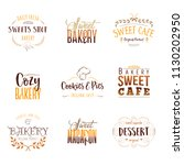 badge set for small businesses  ... | Shutterstock . vector #1130202950
