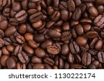 roasted coffee beans | Shutterstock . vector #1130222174