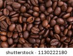 roasted coffee beans | Shutterstock . vector #1130222180