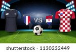 france vs croatia  final match... | Shutterstock .eps vector #1130232449