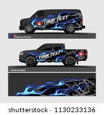 truck and vehicle graphic... | Shutterstock .eps vector #1130233136