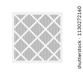 plated air filter icon. clipart ... | Shutterstock .eps vector #1130272160