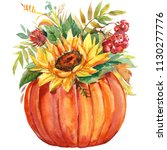 Autumn Multicolored Bouquet Of...