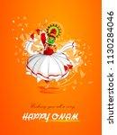 vector illustration of happy...   Shutterstock .eps vector #1130284046