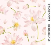 vector botanical seamless... | Shutterstock .eps vector #1130286416