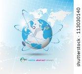 eps10 vector abstract network...   Shutterstock .eps vector #113030140
