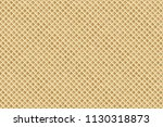waffle seamless pattern. vector ... | Shutterstock .eps vector #1130318873
