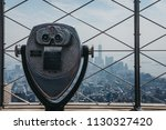 Coin Operated Binoculars On The ...