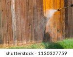 high pressure power washer... | Shutterstock . vector #1130327759