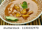 alleppey fish curry   kerala... | Shutterstock . vector #1130332970