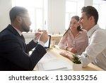 male architect or interior... | Shutterstock . vector #1130335256