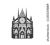 Vector Icon Westminster Abbey....