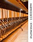 inside piano. internal... | Shutterstock . vector #1130336894