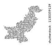 abstract schematic map of... | Shutterstock . vector #1130359139