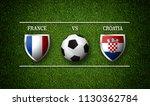 football match schedule  france ... | Shutterstock . vector #1130362784