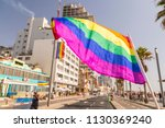 20th annual tel aviv pride week.... | Shutterstock . vector #1130369240