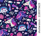 awesome seamless pattern with...   Shutterstock .eps vector #1130373623