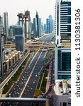 dubai  united arab emirates  ... | Shutterstock . vector #1130381306