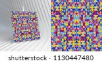 cover design template for... | Shutterstock .eps vector #1130447480