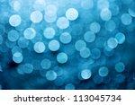 Natural Blue Blur Abstract...