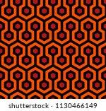 the shining carpet vector... | Shutterstock .eps vector #1130466149