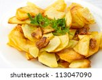 Home Fried Potatoes With Slice...