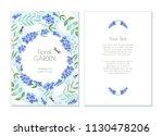 great vector invitation card...   Shutterstock .eps vector #1130478206