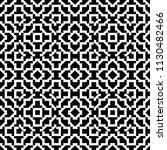 black and white seamless... | Shutterstock .eps vector #1130482466