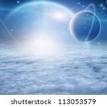 atmosphere and planets | Shutterstock . vector #113053579