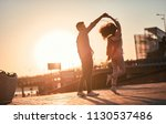 love is in the air  cute... | Shutterstock . vector #1130537486