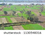 agriculture in upper egypt by...   Shutterstock . vector #1130548316