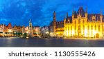 panoramic view of typical... | Shutterstock . vector #1130555426