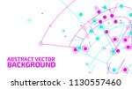 technology background. abstract ... | Shutterstock .eps vector #1130557460