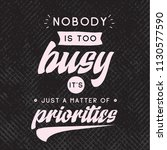 inspirational quote  motivation.... | Shutterstock .eps vector #1130577590