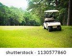 Golf Sport Concept  Golf Cart...